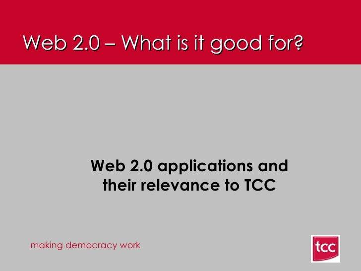 Web 2.0 Presentation