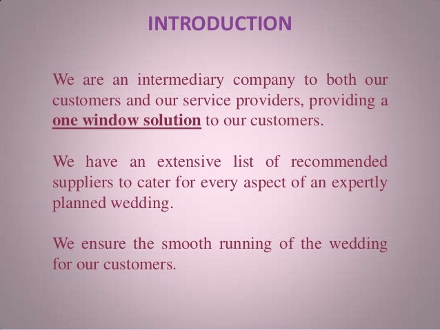 Wedding event planning business plan     Happy wedding moments blog