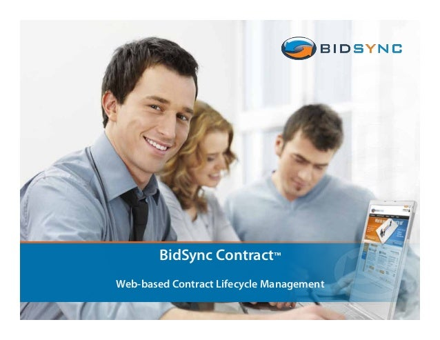 BidSync Contract™ Web-based Contract Lifecycle Management