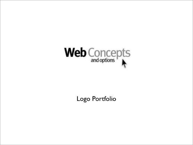 'Web  and options   Logo Portfolio