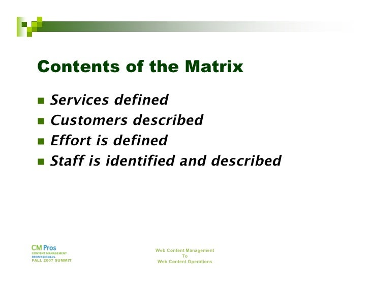 Define web content