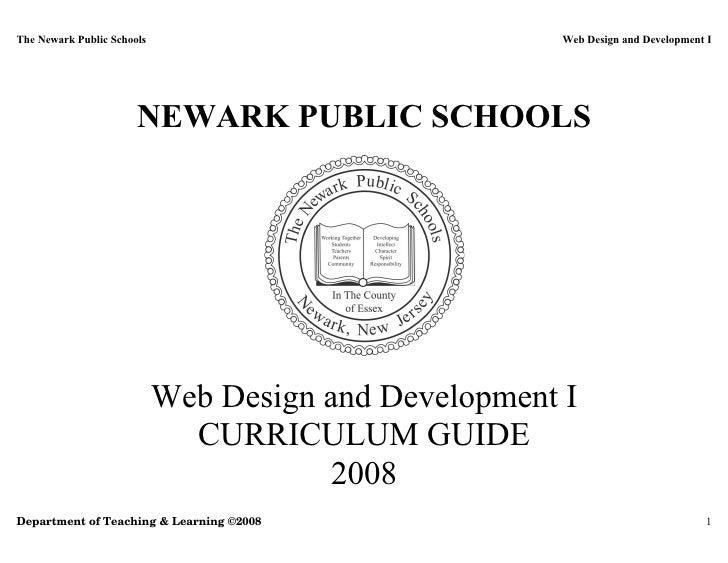 Web Design and Development I - 2008