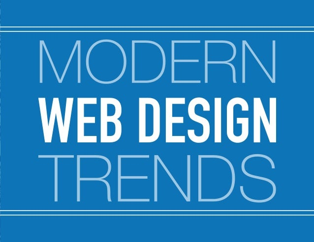 2014 Web Design Trends by @SynecoreTech