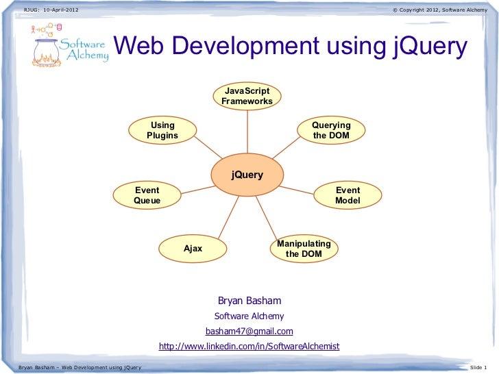 Web Development using jQuery