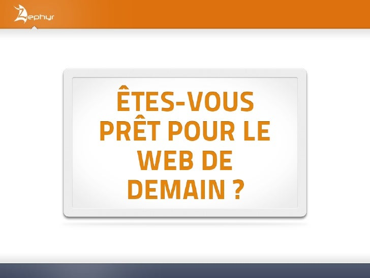 Zephyr, l'internet de A à Z      SAS créée en 2007, capital de 120 000 €.      Agence Web de 15 personnes aux Sables d'Olo...