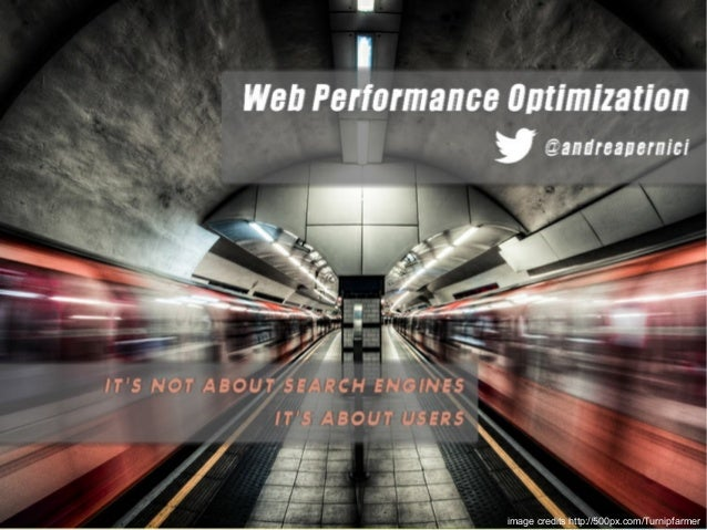 Web Performance Optimization - Gt Study Day - Bologna 2012