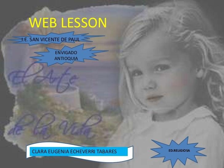WEB LESSON I.E. SAN VICENTE DE PAUL               ENVIGADO              ANTIOQUIA                                         ...