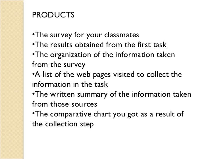 Research Paper Webquest
