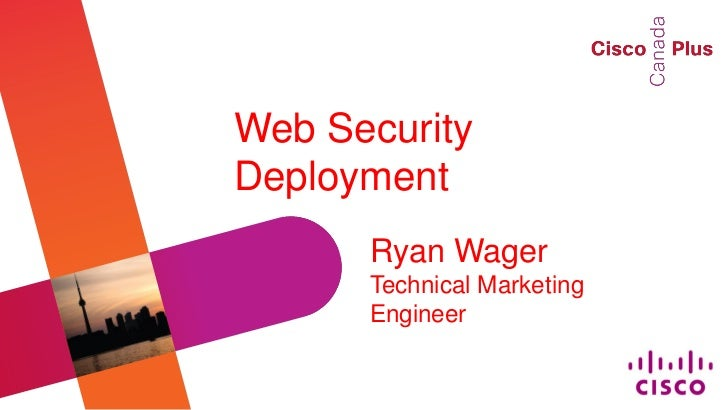 Web Security Deployment