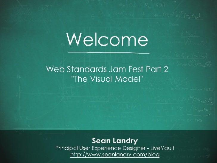 Web Standards Presentation - CSS