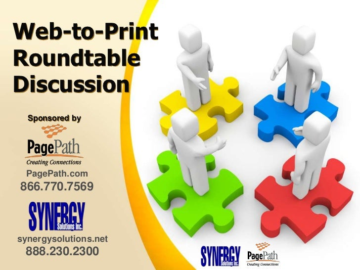 Web-to-Print Roundtable