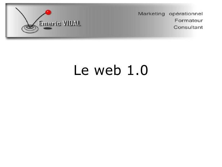 Le web 1.0