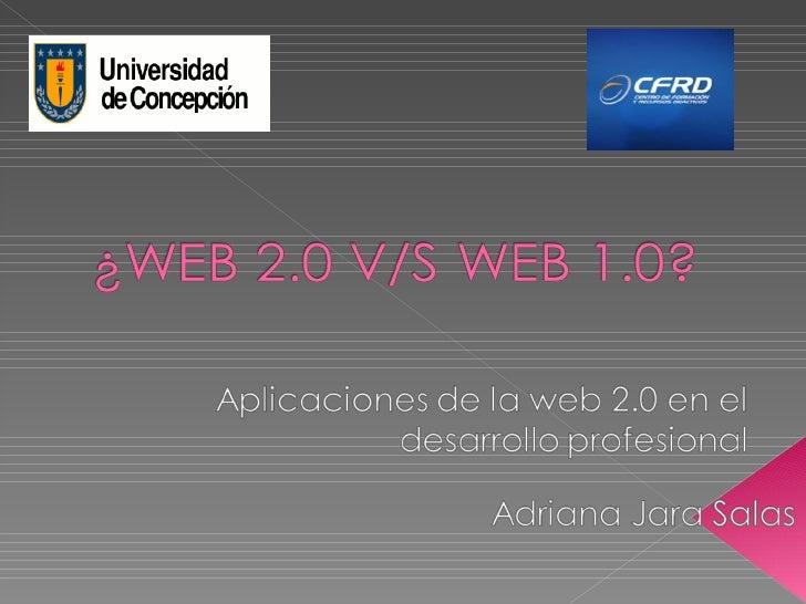    Web 2.0, concepto surgido en el año    2004, acuñado por Tim O'Reilly.   Si utilizas lo que los de la Web 2.0    deno...
