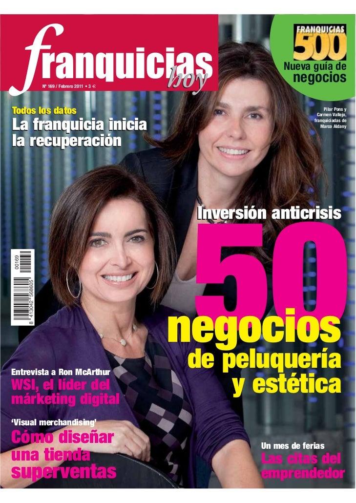 Franquicias Hoy nº 169, febrero 2011