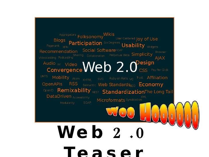 Web 2.0 Teaser
