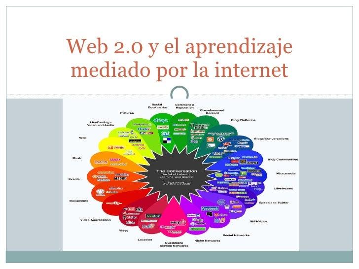 Web 2.0 y el aprendizaje mediado por la internet