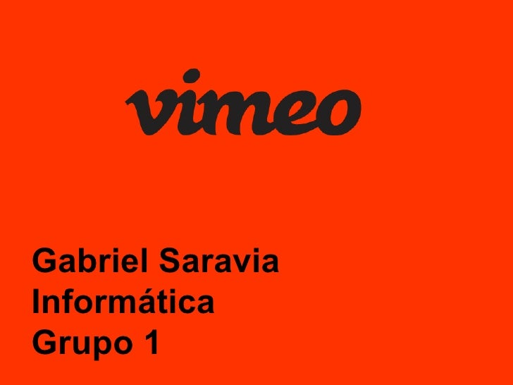 Gabriel Saravia Informática Grupo 1