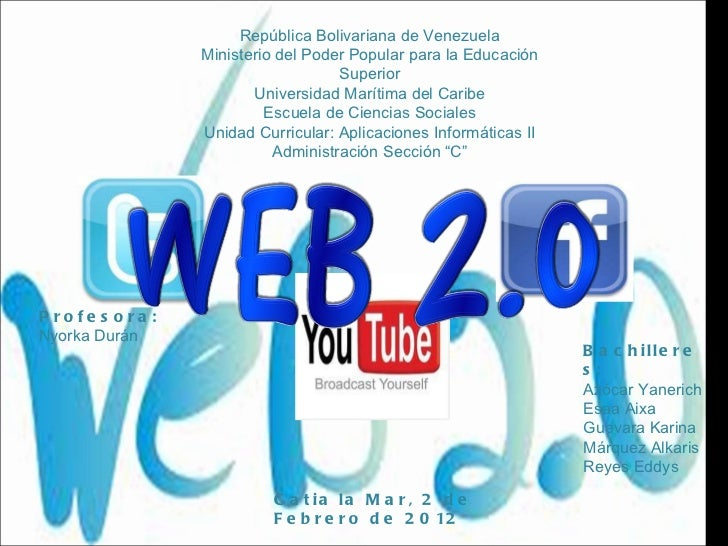 República Bolivariana de Venezuela Ministerio del Poder Popular para la Educación Superior Universidad Marítima del Caribe...