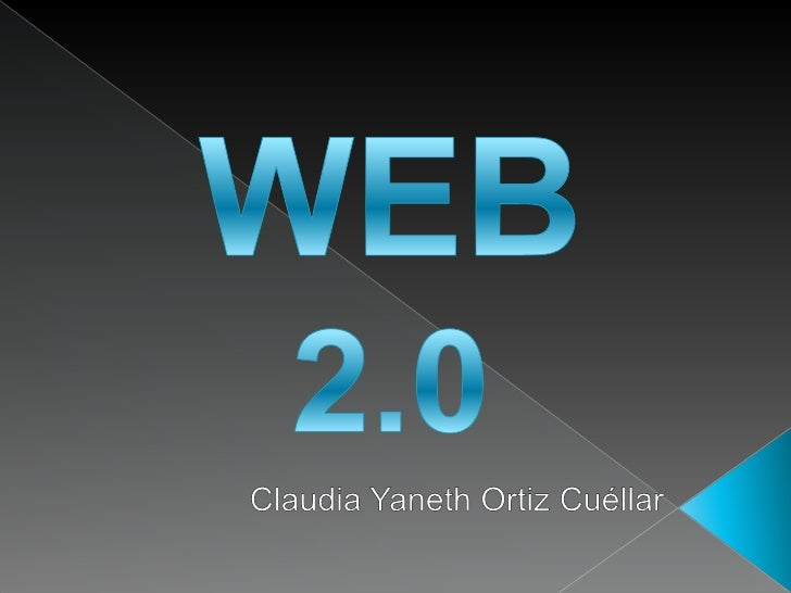Web 2.0  servicios y aplicaciones