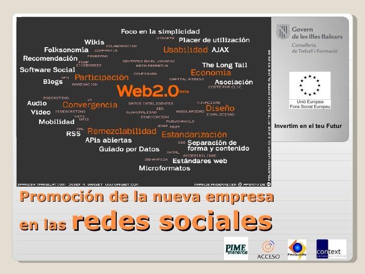 Empresa y Web 2.0   Facebook, Twitter y Ning