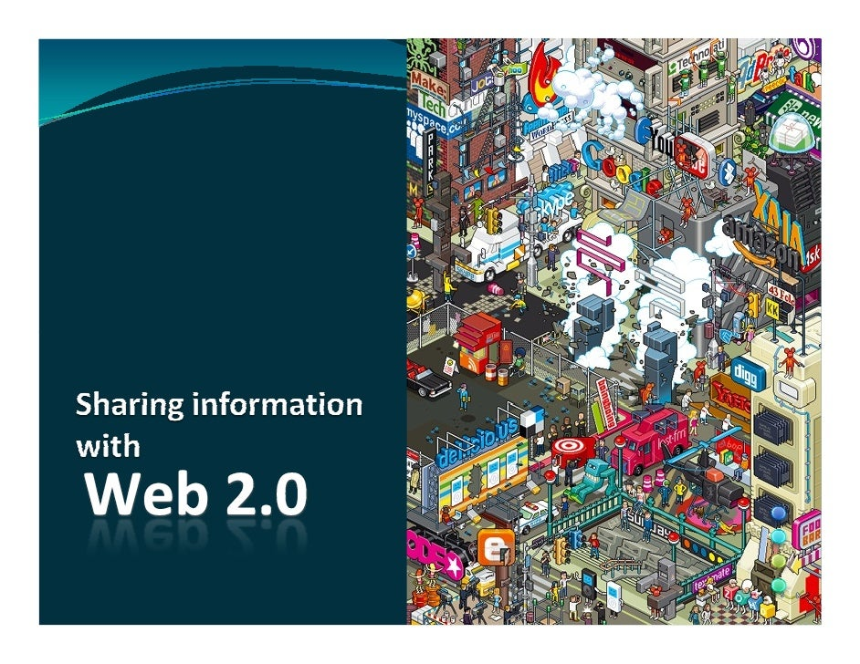 Sharing information with web 2.0