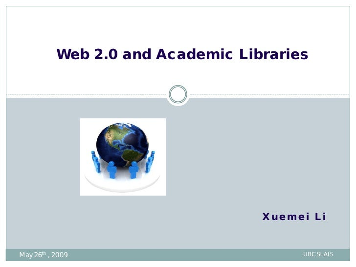 Web2.0 and academic libraries