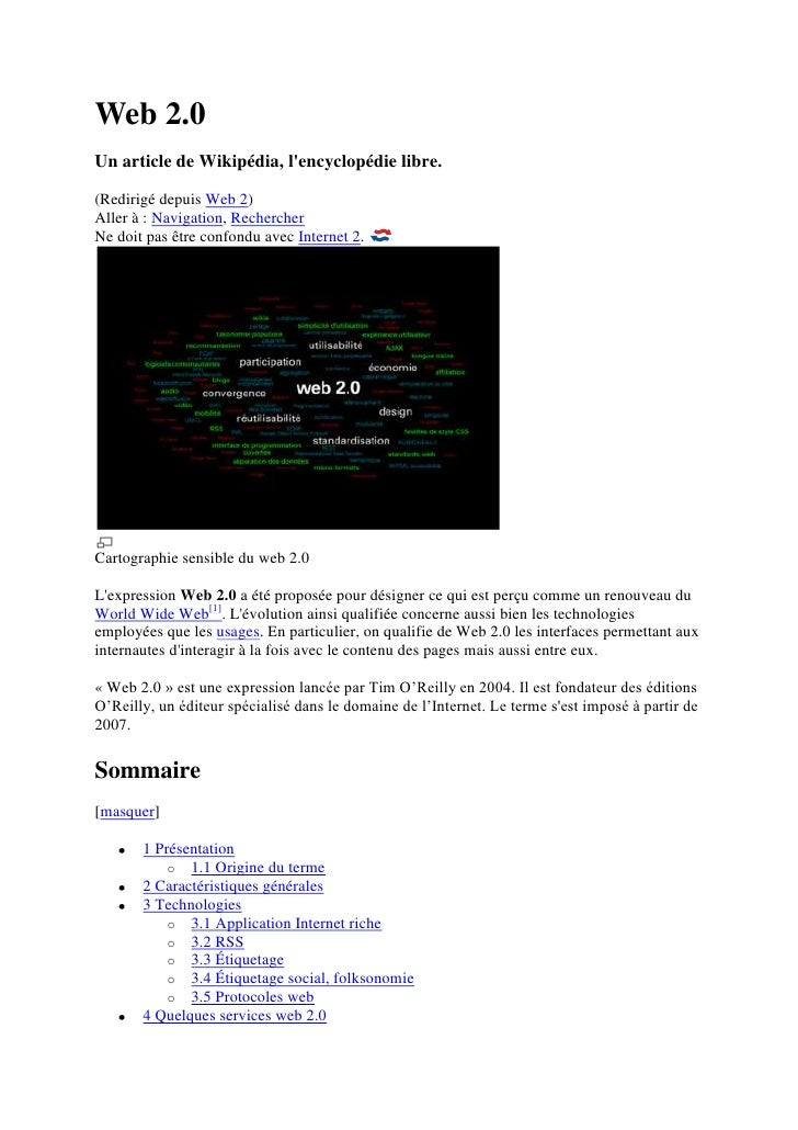 Web 2.0 Complet