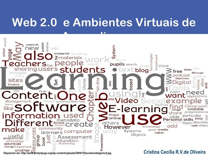 Web 2.0 e ambientes virtuais de aprendizagem