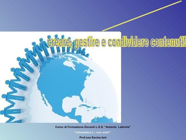 Web2.0 E Didattica