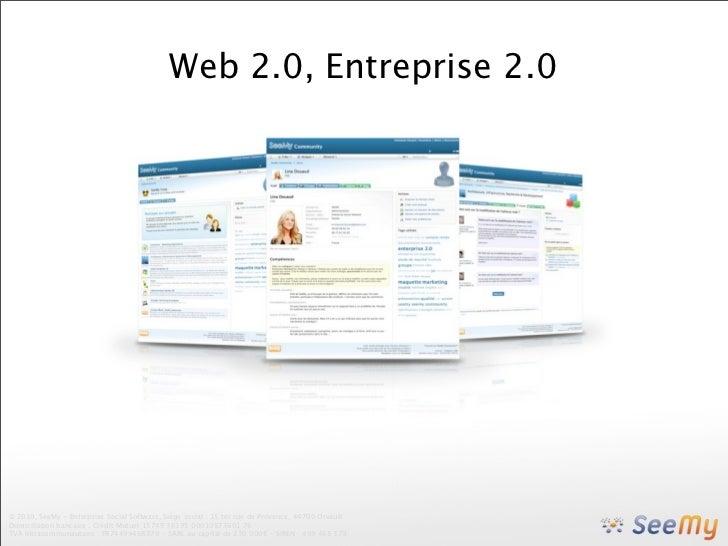 Web 2.0, entreprise 2.0