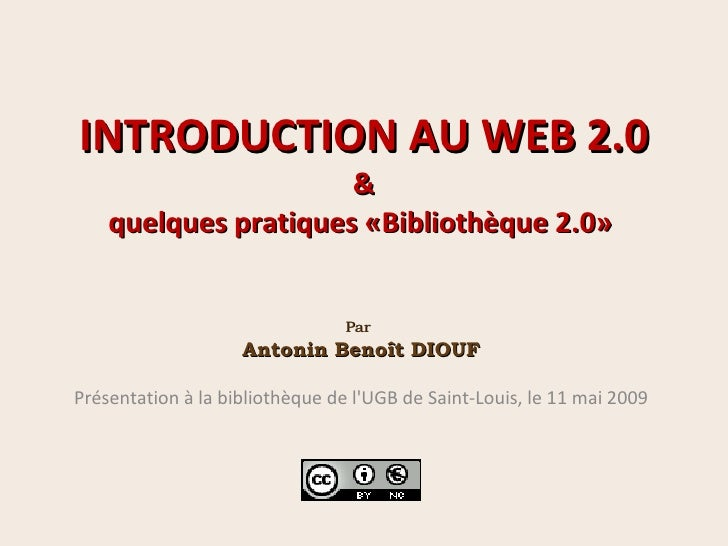 Web 2.0 : une introduction