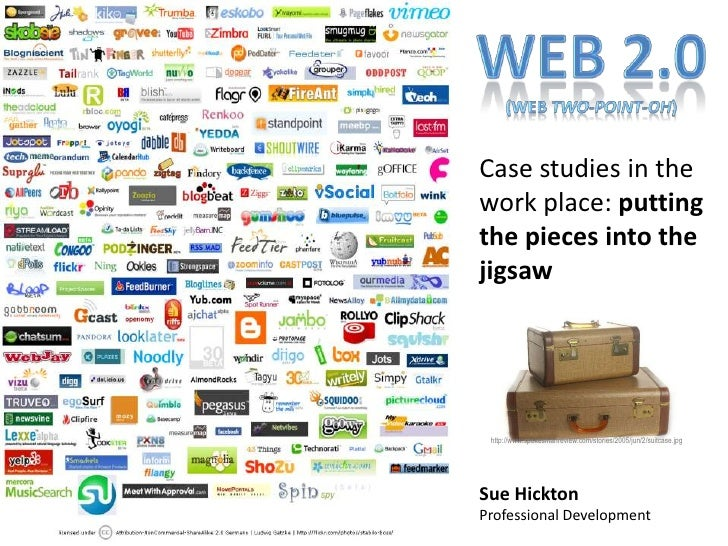 Web 2.0 (web two-point-oh)<br />Case studies in the work place: putting the pieces into the jigsaw<br />http://www.spokesm...