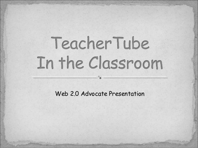 Web 2.0 Advocate Presentation