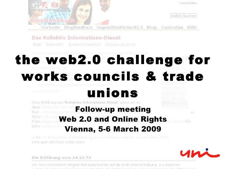 Web2.0 Presentation for global UNIon