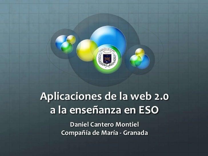 Web2.0 Aplicaciones para ESO - primera parte