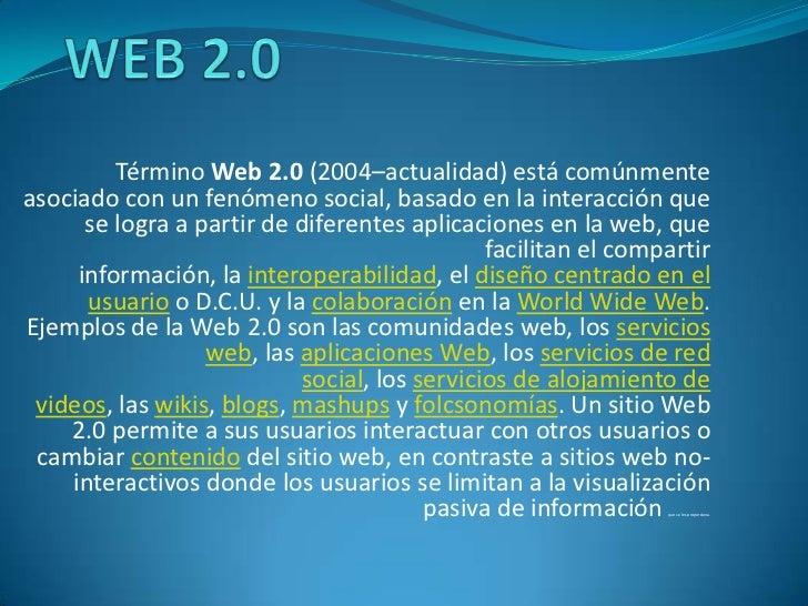 Web 2.0 & sistemas operativos