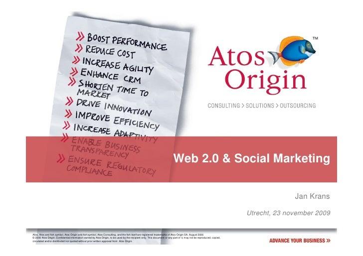 Web 2.0 & Social Marketing