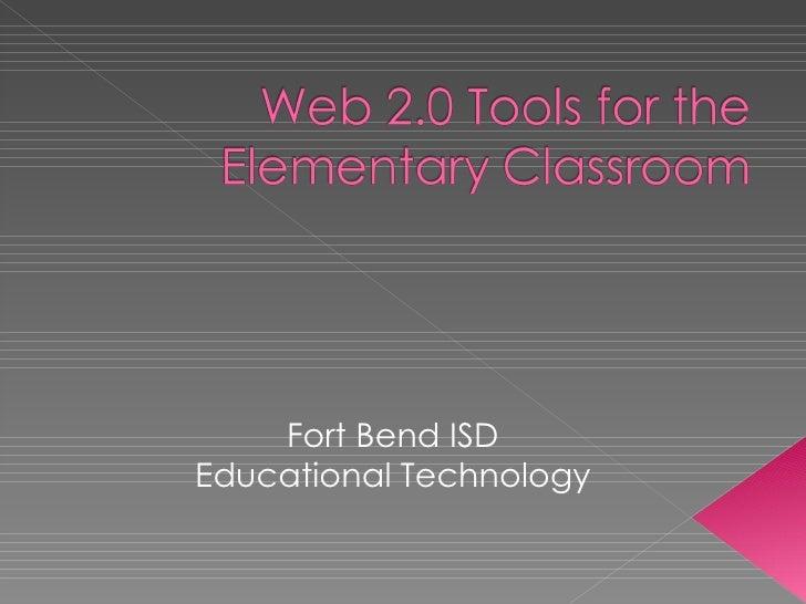 Web 2 0 Tools For The Elem Classroom