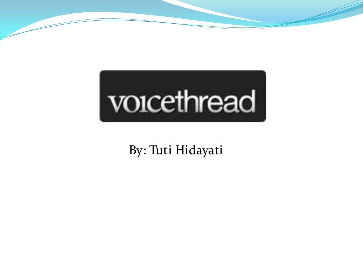 Web 2.0 voicethread ppt