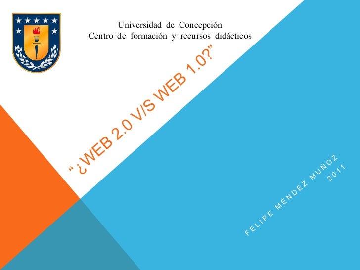 Universidad de ConcepciónCentro de formación y recursos didácticos