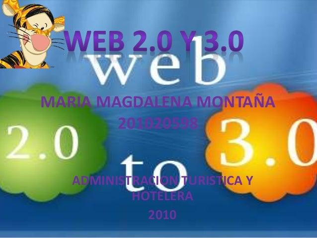 WEB2.0 VS 3.0