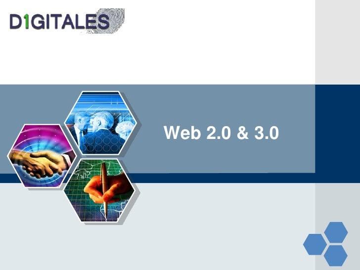 Web 2.0 y web 3.0