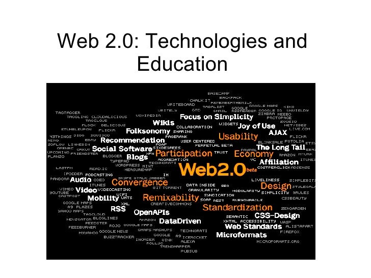 Web 2.0: Technologies and Education
