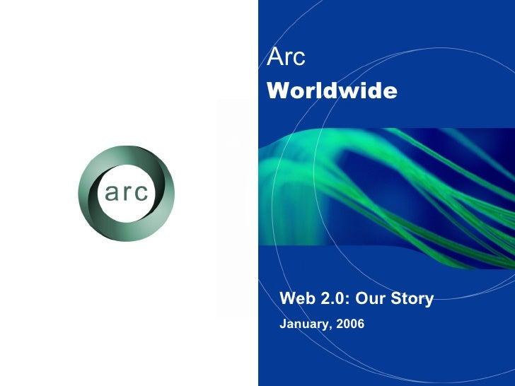 Arc   Worldwide Web 2.0: Our Story January, 2006
