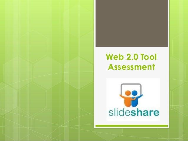 Web 2.0 Tool  - Assessment
