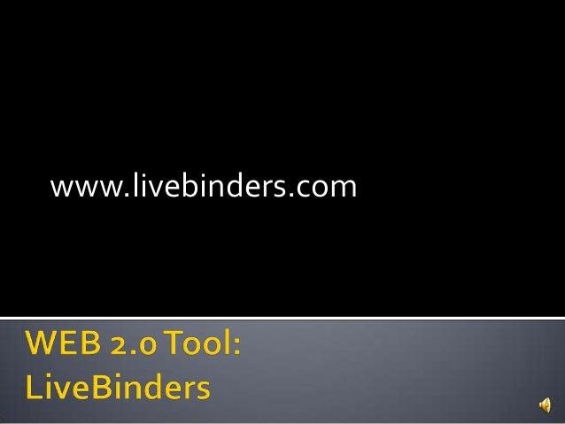 www.livebinders.com