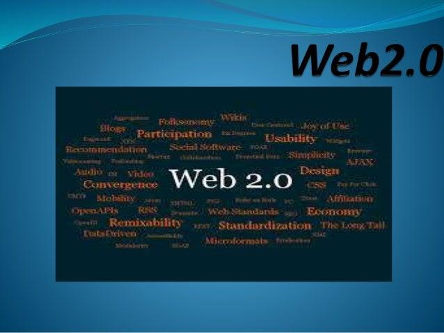 PRESENTATION  Le  Web 2.0 facilite l'interaction entre utilisateurs, le crowdsourcing et la création de réseaux sociaux r...