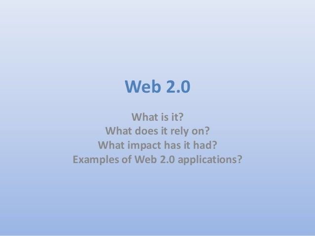 Web 2.0 Lesson Slides Class 5E