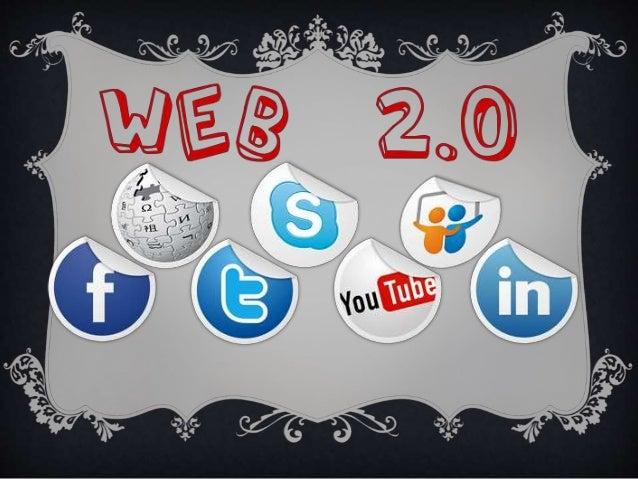  La Web 2.0 no es más que la evolución de la Web o Internet en el  que los usuarios dejan de ser usuarios pasivos para co...