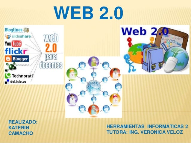 WEB 2.0 REALIZADO: KATERIN CAMACHO HERRAMIENTAS INFORMÁTICAS 2 TUTORA: ING. VERONICA VELOZ
